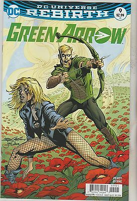 Dc Comics Green Arrow #9 December 2016 Rebirth Variant 1St Print Nm