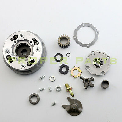 ATV CLUTCH ASSEMBLY SEMI AUTOMATIC ONLY 90cc 110cc125cc CHINESE QUAD 17TEETH