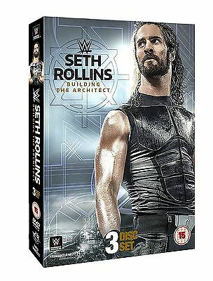 Wwe Wrestling Seth Rollins Building The Architect Triplo Dvd New