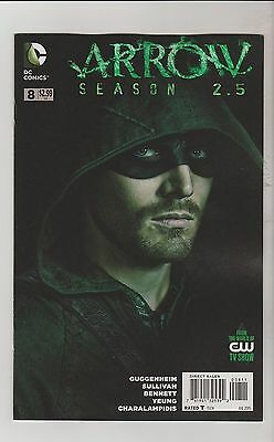 Dc Comics Arrow Season 2.5 #8 July 2015 1St Print Nm