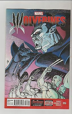 Marvel Comics Wolverines #16 June 2015 All New Now 1St Print Nm