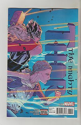 Marvel Comics Mighty Thor #11 November 2016 1St Print Nm