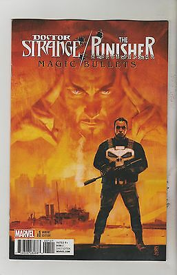 Marvel Comics Doctor Strange Punisher Magic Bullets #1 Feb 2017 Variant Nm