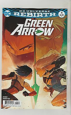 Dc Comics Green Arrow #4 October 2016 Rebirth 1St Print Nm