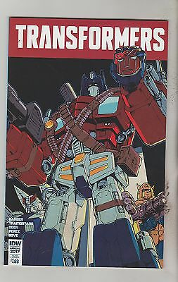 Idw Comics Transformers Annual 2017 March 2017 Subs Variant 1St Print Nm