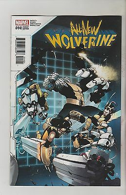 Marvel Comics All New Wolverine #14 January 2017 Bengal Connecting Variant Nm