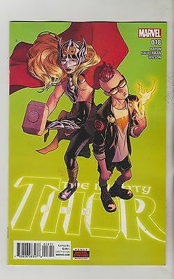 Marvel Comics Mighty Thor #18 June 2016 1St Print Nm