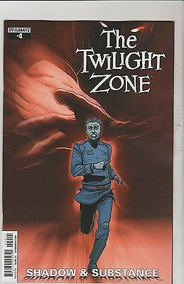 Dynamite Comics Twilight Zone Shadow And Substance #4 April 2015 1St Print Nm