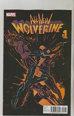 Marvel Comics All New Wolverine Annual #1 October 2016 Del Rey Variant Nm