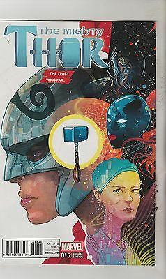Marvel Comics Mighty Thor #15 March 2017 Story Thus Far Variant 1St Print Nm