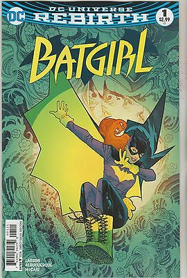 Dc Comics Batgirl #1 September 2016 Rebirth Variant 1St Print Nm