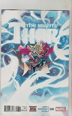 Marvel Comics Mighty Thor #8 August 2016 1St Print Nm