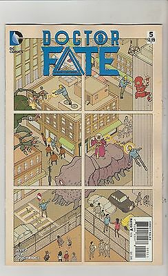 Dc Comics Doctor Fate #5 December 2015 1St Print Nm