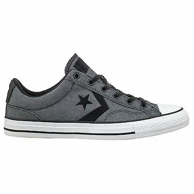 Converse Star Player Ox Black White Mens Trainers Unisex New All Sizes
