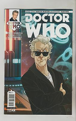 Titan Comics Doctor Who Twelfth Doctor Year 2 #15 March 2017 Variant D Nm