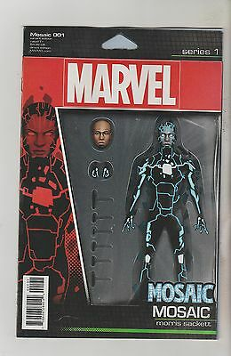 Marvel Comics Mosaic #1 December 2016 Action Figure Variant 1St Print Nm