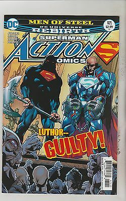 Dc Comics Action Comics #971 March 2017 Superman Rebirth 1St Print Nm