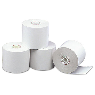 """Direct Thermal Printing Thermal Paper Rolls, 2 5/16"""" X 338 Ft, White, 12/carton-"""