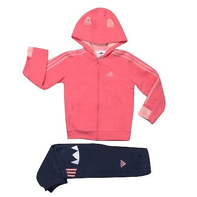 Adidas Infant Girls Tracksuit