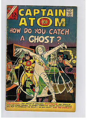 CAPTAIN ATOM COMIC No. 82 from 1966 first app. Nightshade