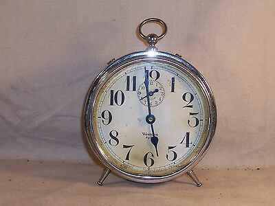 Vintage Antique Westclox Big Ben Peg Leg Alarm Clock