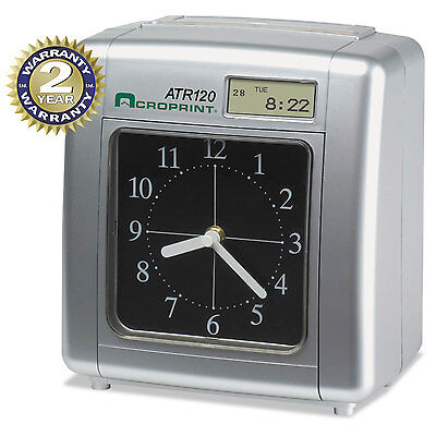 Model Atr120 Analog/lcd Automatic Time Clock-ACP010212000