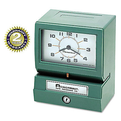 Model 150 Analog Automatic Print Time Clock With Month/date/1-12 Hours/minutes-A