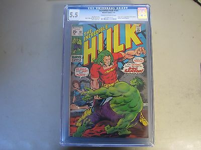 The Incredible Hulk #141 CGC 5.5 Comic Book  1971