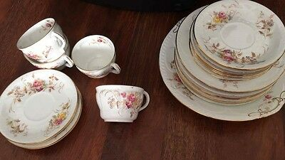 William A Adderley & Co bone china set