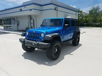 "2015 Jeep Wrangler Unlimited Edition Sport 2015 Jeep Wrangler Unlimited Edition Sport 20"" Chrome Wheels New Tires"