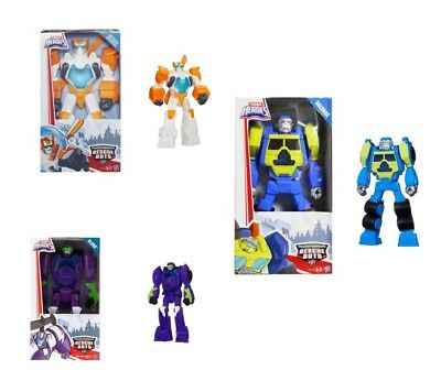 PLAYSKOOL 4x TRANSFORMERS RESCUE BOTS FIGURE Salvage Blurr Blades CHASE THE POLI