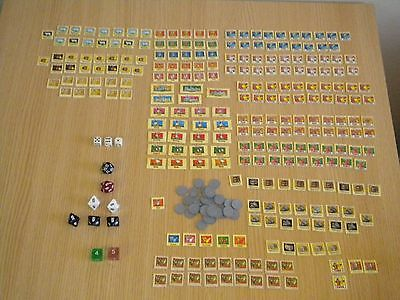 Blood Royale Parts & Pieces, Games Workshop, Plus Dungeons & Dragons Dice