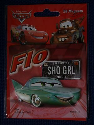 disney pixar cars Flo  3d fridge magnet 034