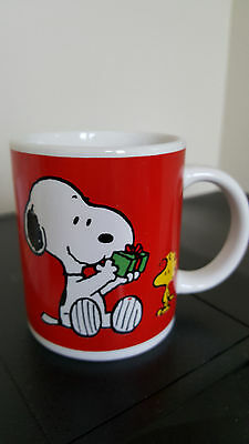 Peanuts Snoopy and Woodstock Mug, United Feature Syndicate Inc.  Cup