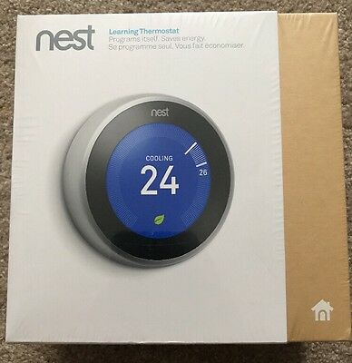 NEW Nest Thermostat 3rd Generation