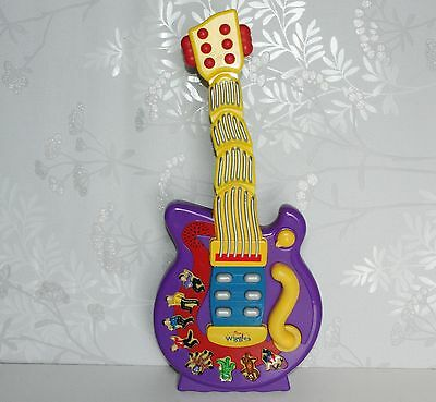The Wiggles Musical Wiggling Dancing Toy Guitar