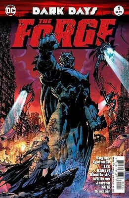 Dark Days The Forge 1 1St Print Foil Stamped Cover Batman Nm