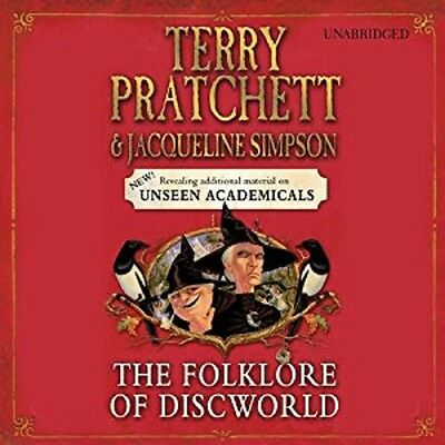 Terry Pratchett: The Folklore of Discworld : Audio Book. MP3 CD.