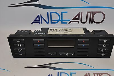 Genuine Bmw E53 X5  Ac Air Conditioning Heater Climate Control Unit 6972163