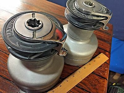 Pair Of Lightly Used Maxwell 24 Self Tailing 2Speed Winches(Comp To Lewmar 40St)