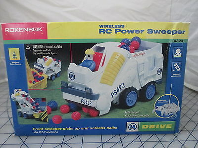 Rokenbok RC Power Sweeper Radio Remote Control 03231 NEW Free Ship