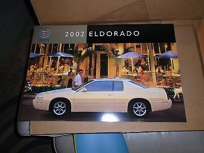 Cadillac 2002 02 ELDORADO TOURING COUPE SHOWROOM POSTER ETC DEALERSHIP GM