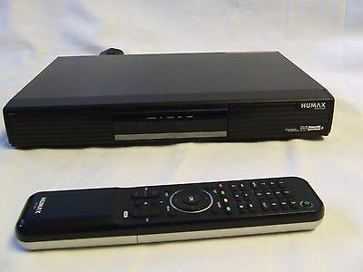 Humax PVR-9150T Freeview Digital Recorder with a built in 160GB, original remote