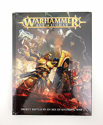 Warhammer Age of Sigmar Mighty Battles in an Age of Unending War NEW Sealed