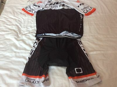 Trek cycling jersey and bib shorts Size L