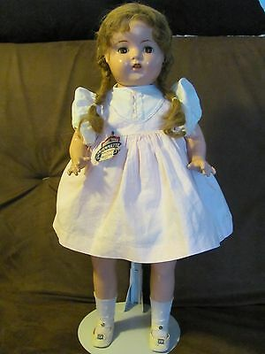Rare Arranbee Early Nannette Doll ~ 1938 ~ Composition and Cloth