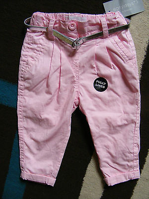 Early Days Baby Girls Pink Lined Trousers Pants.age 0-3 Months New