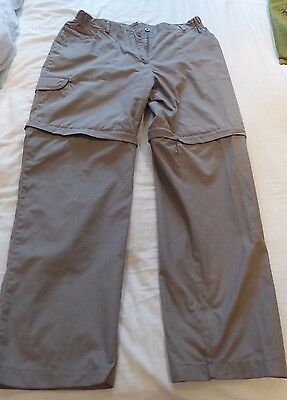 Zip off trousers by Regatta size 14R