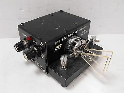 MFJ-422B-X Pacesetter Electronic Keyer w/ Bencher Iambic Paddle for Ham Radio CW