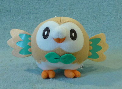 POKEMON - ROWLET Peluche 13 cm Banpresto JAPAN 2016 plush